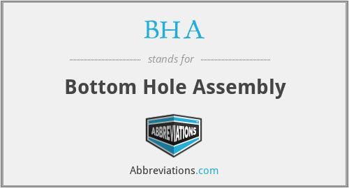 BHA - Bottom Hole Assembly