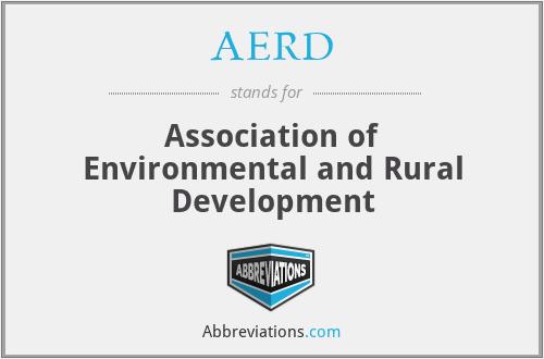 AERD - Association of Environmental and Rural Development