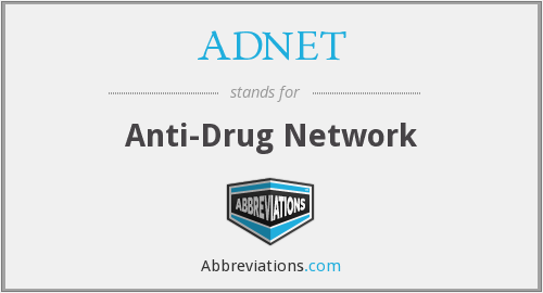 ADNET - Anti-Drug Network