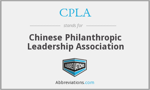 What does CPLA stand for?