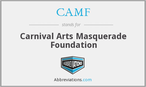 CAMF - Carnival Arts Masquerade Foundation