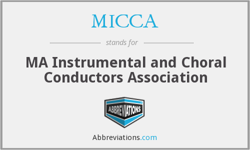 What does MICCA stand for?