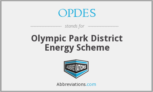 What does OPDES stand for?