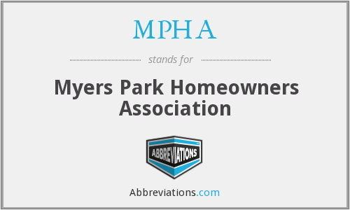 MPHA - Myers Park Homeowners Association