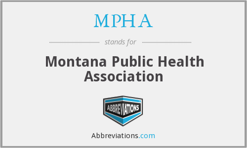 MPHA - Montana Public Health Association