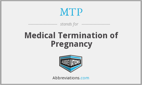 MTP - Medical Termination of Pregnancy