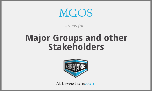 What does MGOS stand for?