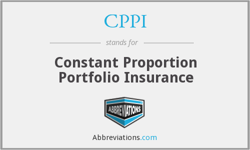 What does CPPI stand for?