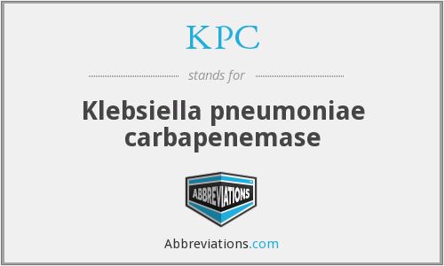 What does klebsiella stand for?
