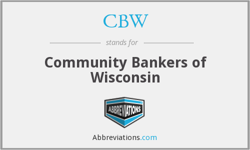 CBW - Community Bankers of Wisconsin