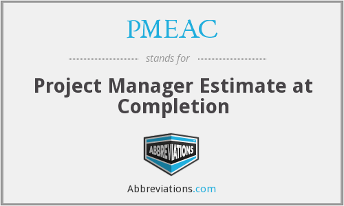 What does PMEAC stand for?