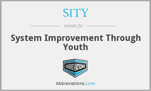 What does SITY stand for?