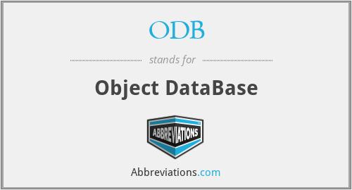 ODB - Object DataBase
