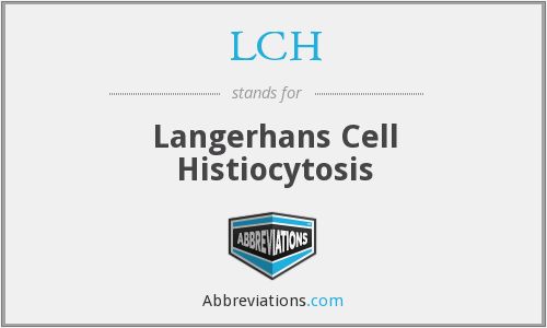 What does HISTIOCYTOSIS stand for?