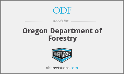ODF - Oregon Department of Forestry
