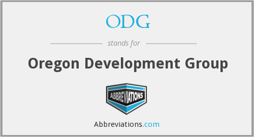 ODG - Oregon Development Group