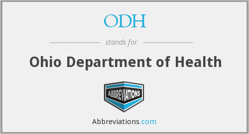 What does ODH stand for?