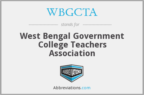 What does WBGCTA stand for?