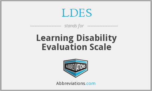 What does LDES stand for?