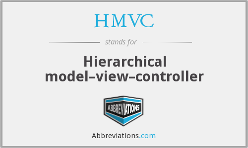 What does HMVC stand for?