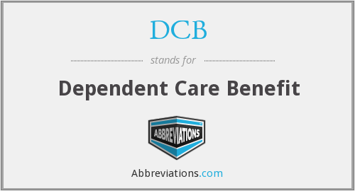 DCB - Dependent Care Benefit