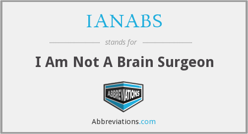 What does IANABS stand for?