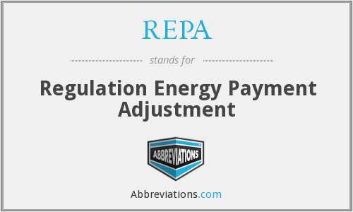 What does REPA stand for?