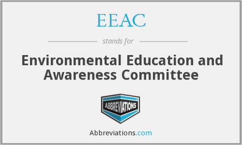 What does EEAC stand for?