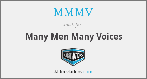 What does MMMV stand for?