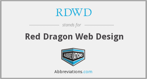 What does RDWD stand for?