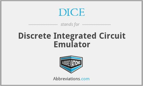 DICE - Discrete Integrated Circuit Emulator