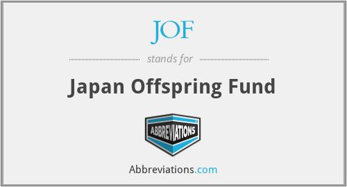 JOF - Japan Offspring Fund