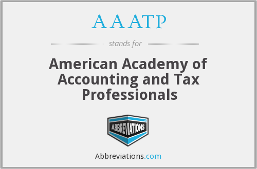 AAATP - American Academy of Accounting and Tax Professionals