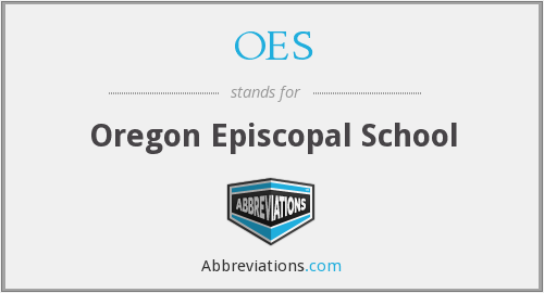 OES - Oregon Episcopal School