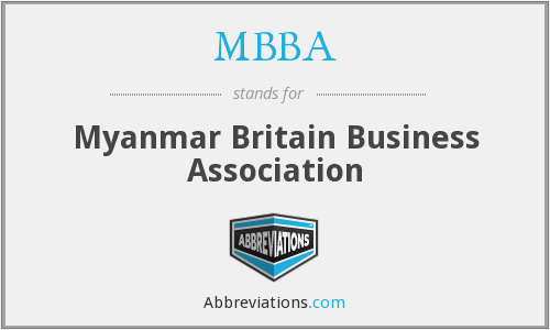 MBBA - Myanmar Britain Business Association
