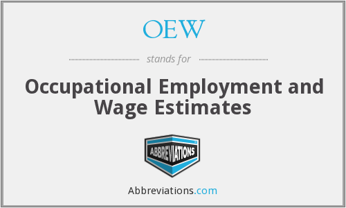 OEW - Occupational Employment and Wage Estimates