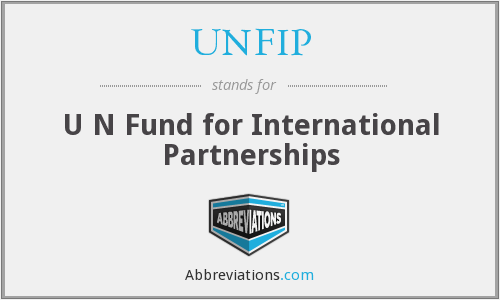 What does UNFIP stand for?