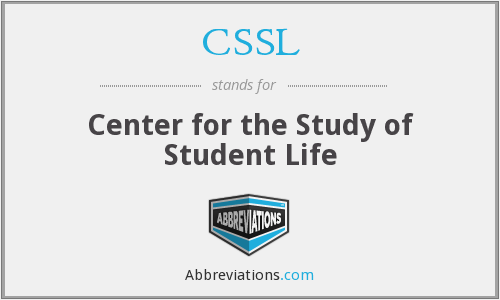CSSL - Center for the Study of Student Life