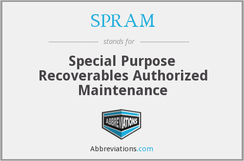 What does SPRAM stand for?