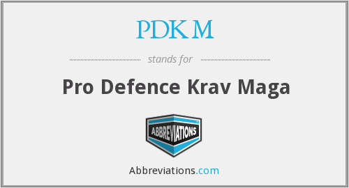 PDKM - Pro Defence Krav Maga