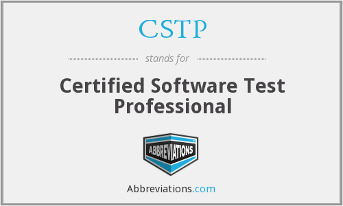 CSTP - Certified Software Test Professional