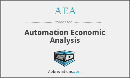 AEA - Automation Economic Analysis