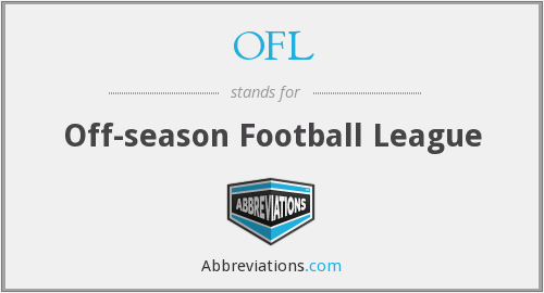 OFL - Off-season Football League