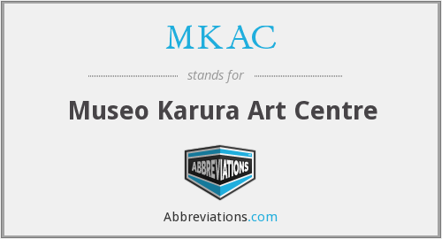 What does MKAC stand for?