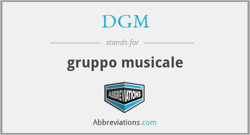 DGM - gruppo musicale