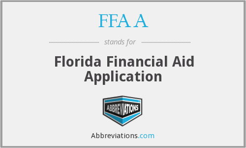 FFAA - Florida Financial Aid Application