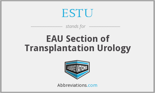 What does ESTU stand for?