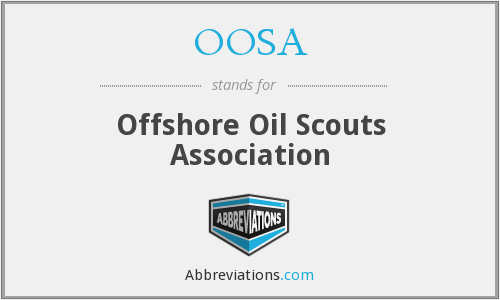 What does OOSA stand for?