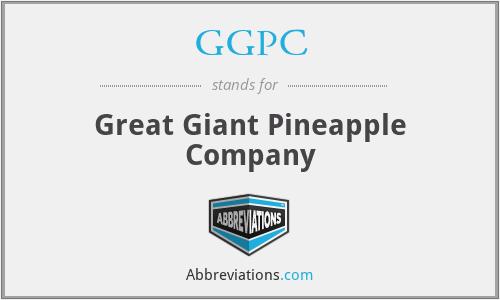 GGPC - Great Giant Pineapple Company