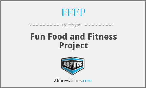FFFP - Fun Food and Fitness Project